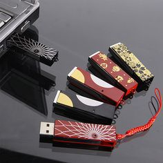 Japanese lacquer USB stick bar by Yamada Heiando, Japan