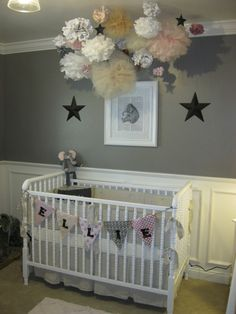 Liking the gray as a neutral to add pink or blue to once the baby is born.