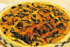 Quiche cu spanac si ciuperci Quiche, Breakfast, Recipes, Food, Pie, Morning Coffee, Eten, Recipies, Ripped Recipes