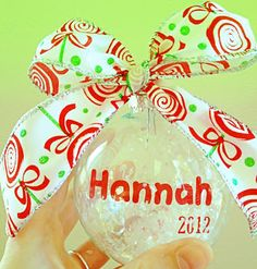 Hope Sew (HopeYoder.com): Floating Christmas Ornaments ~ Silhouette Cameo Project