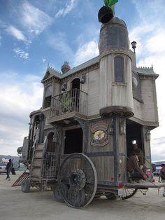 Goth camper