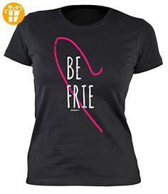Freundschaftsshirt Damenshirt - Damen T-Shirt Freunde : Best Friends Be Frie -- Geschenk Freundschaft Mädchen Shirt Gr: XXL (*Partner-Link)