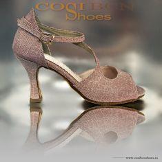 cea22cc1 ROSHETTE es un zapato de baile de mujer original con un tejido resistente y  de horma media/ancha. Estilo baile salón y latino. En nuestro Showroom !