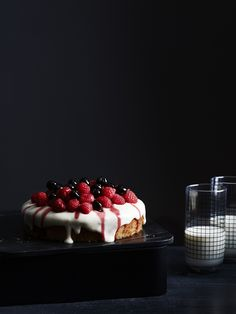 Lemon Cake with Whipped Ricotta & Lemon Curd by Julia Ostro. Photo- Eve Wilson. Production- Lucy Feagins for thedesignfiles.net