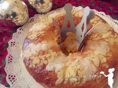 Las Recetas de Malena: Roscón de Reyes relleno de nata y trufa