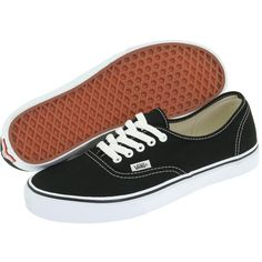 Vans Authentic Core Classics Skate Shoes ($45) ❤ liked on Polyvore featuring shoes, sneakers, vans, flats, zapatos, flat heel shoes, vans shoes, skate shoes, flat shoes and vans sneakers