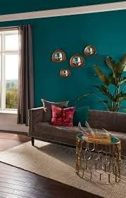 Image result for curtains that go with teal walls