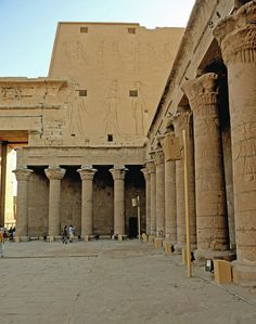 Edfu Temple - Egypt. This is my most FAVORITE of all the temples we went to. Magical!!!