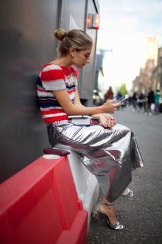 They Are Wearing: London Fashion Week Spring 2016: WWD waysify
