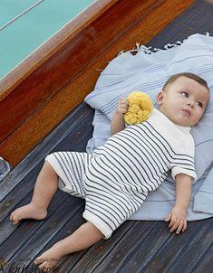 Baby romper suit knitting pattern free