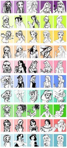 Princess concept art