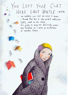 You Left Your Coat Here Last Winter, Sophie Blackall