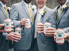 Bachelor Party Basics | Photo by: Brooke Courtney Photography | TheKnot.com