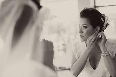 wedding photography - this modern romance - fannie & leonard - bride - getting ready - mirror