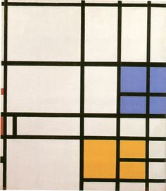 Composition, London, 1940-2 Mondrian