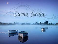 Immagini Belle di Buona Serata per Whatsapp - StatisticaFacile.it Good Night Cards, Place Cards, Place Card Holders, Facebook, Happy Hour