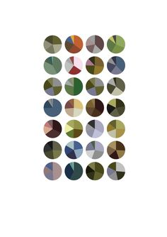 Arthur Buxton: Monet visualisation pie charts
