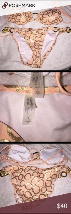 Victoria Secret bikini Wish it still fit me ! This bikini is absolutely gorgeous !!! Victoria's Secret Swim Bikinis