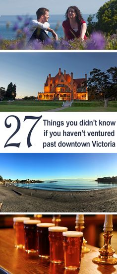 Just outside of Victoria's bustling downtown core, you'll find plenty of attractions and cool places you should visit while you're in town! How many of these 27 experiences have you tried? #exploreVictoria | www.tourismvictoria.com