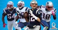 Four members of the New England Patriots have been selected to the 2017 NFL Pro Bowl.