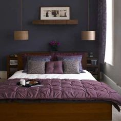 Violet Nuance For Bedroom Ideas Pendant Lamp For Couple Bedroom Ideas Part 48