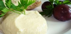 Ταραμοσαλάτα με Λευκό Ταραμά Honeydew, Starters, Dips, Cheese, Fruit, Cooking, Recipes, Greek, Spreads