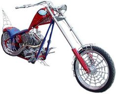 occ choppers | Photo: Orange County Chopper-american chopper - spiderman bike opg ...