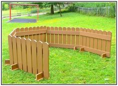 Building A Gate For A Dog Run From A Pre Made Fence Panel.  Www.delightfuldomicile.blogspot.com | Three Apple Designs Blog: Being  Productive | Pinterest ...