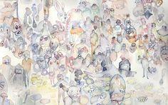 Tara Marynowsky Illustration Art, Watercolor, Artwork, Painting, Pen And Wash, Watercolor Painting, Work Of Art, Auguste Rodin Artwork, Painting Art