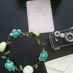 Flower Crown 7 inches in diameter/ Never worn/ This item must be bundled  Tags: music festival, brandy vibe, Coachella, Bonnaroo, sxsw Accessories