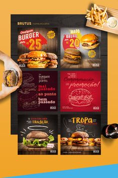 Social Media 2018 on Behance Social Media Art, Social Media Analytics, Social Media Banner, Social Media Graphics, Food Menu Design, Food Poster Design, Web Design, Social Media Design, Graphic Design