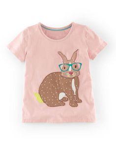 Bunny Applique T-shirt - size 3/4