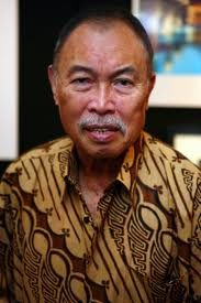 Iwan Tirta (April 18, 1935 – July 31, 2010) was an Indonesian batik fashion designer. Tirta trained as a lawyer, but became an internationally known designer. He is credited with beginning the early revival of batik design during the 1970s and 1980s