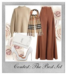 """""""Contest: The Best Set"""" by adln99 on Polyvore featuring Polaroid, Zimmermann, The Row, Burberry and Yves Saint Laurent"""