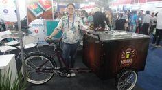 Empreendedora fatura alto com produção de food bikes