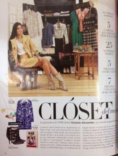 Publicación en revista Harper's Bazaar México