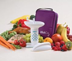 """""""KidCo BabySteps Deluxe Food Mill with Travel Tote"""" Baby Food Recipes, Whole Food Recipes, Great Recipes, Vegan Recipes, Vegan Food, Best Food Processor, Food Processor Recipes, Baby Food Mill, Making Baby Food"""