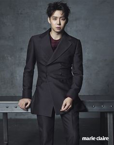 Yoochun - Marie Claire Magazine September Issue '15