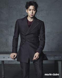 Park Yoo Chun for Marie Claire Sept`15