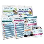 SPECTRUM AQUA - WATERCOLOR MARKERs -COMPLeTE SeT with Instructional Video !! by BarbsHandiworks on Etsy