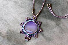 Collar Macrame, Macrame Colar, Macrame Art, Macrame Necklace, Macrame Jewelry, Wire Jewelry, Boho Jewelry, Jewelry Crafts, Handmade Jewelry