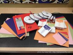 Home made cards and Stampin up ideas