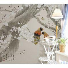 Fototapete Papier Peint 3D Papier Peint Non-Tiss/é Papiers Peints Chinois D/écor /À La Maison Peint /À La Main Abstrait Lignes Encre Artistique Paysage Mode Silky 3D Papier Peint/-350cmx245cm