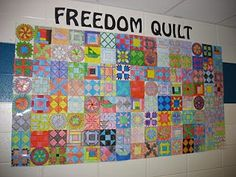 Mrs. Stone's Class: We've made our Freedom Quilt!