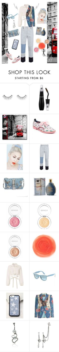 """Denim Heaven"" by mi-estilo91 on Polyvore featuring Urban Decay, Lancôme, Irregular Choice, Lulu in the Sky, Tome, Mia Bag, Diesel, Clinique, Cinq à Sept and Ray-Ban"