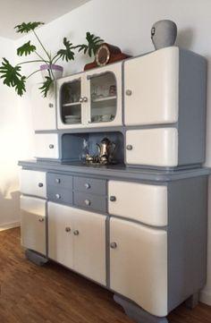 buffetschrank k chenschrank vitrinenschrank buffet. Black Bedroom Furniture Sets. Home Design Ideas