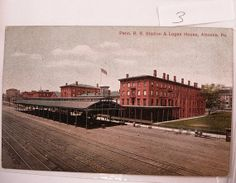 Vintage Penn railroad station postcard Penn by NeatstuffAntiques, $55.00