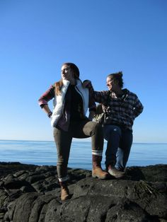The most stylish way to hike the trails around the Bay of Fundy is to do so while wearing Blundstones #yourboots #bayoffundy #novascotia