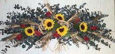 eucalyptus swag | Silk Sunflowers