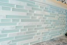 Classical Beach House: Sea Glass; I like it for shower trim.